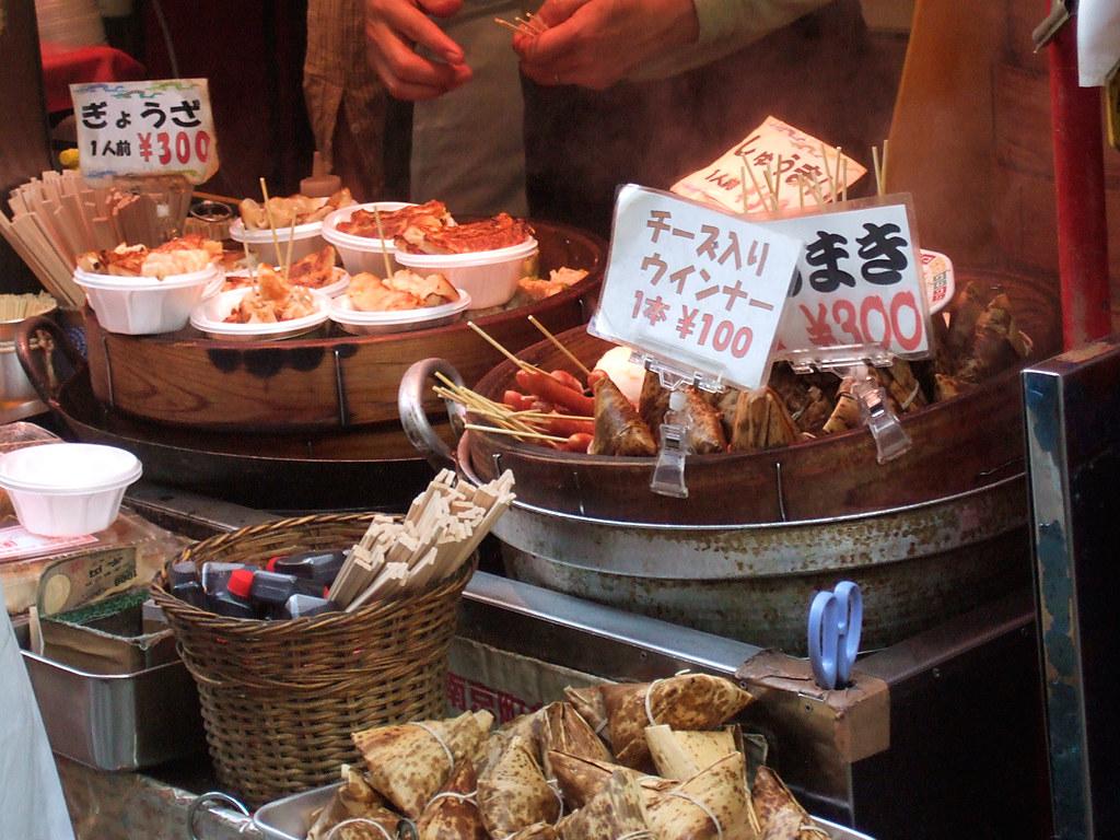 餃子と腸詰めと焼売