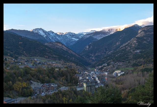 Mirador Iglesia Sant Cristòfol Anyós Andorra - La Massana desde Iglesia de Sant Cristòfol de Anyós
