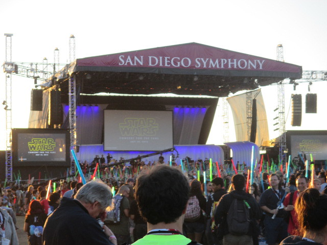 Star Wars Concert For the Fans with the San Diego Symphony by Peter Lee