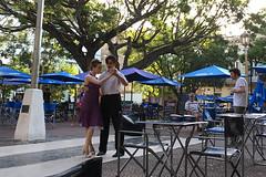 Buenos Aires - Plaza Dorrego tango pair