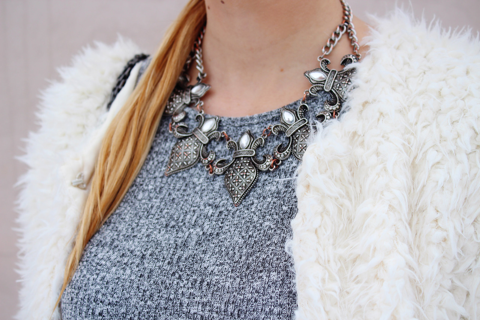 Medieval style necklace