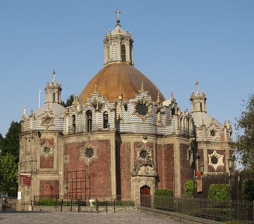 Mexico City: Templo del Pocito (le temple du petit puits)