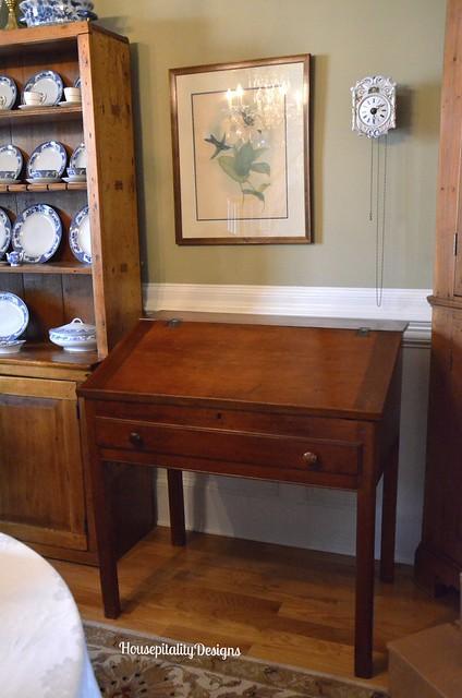 Antique School Master's Desk - Housepitality Designs