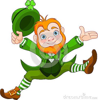St Patty Day happy-leprechaun-28818778