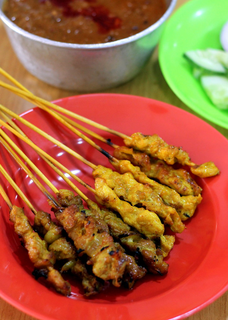 Malacca Food Guide: Sun May Hiong Satay House Pork Chicken Satay