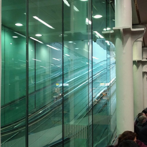 Heading to Brussels, waiting Eurostar at St Pancras station