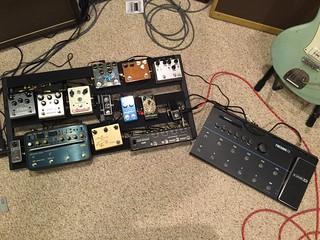 board pedal setup