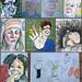March Party Portraits by Gila Mosaics n'stuff