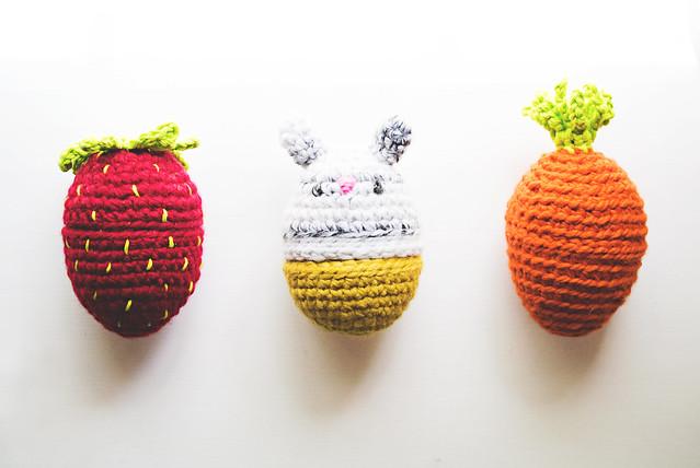 Crochet: bunny food