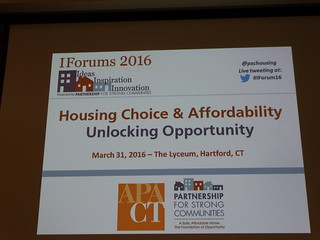 Housing Choice and Affordability: Unlocking Opportunity IForum March 2016