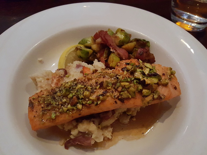 Pistachio Salmon The Keg