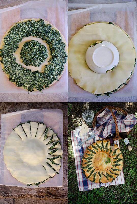 Torta Pasqualina a Fiore2
