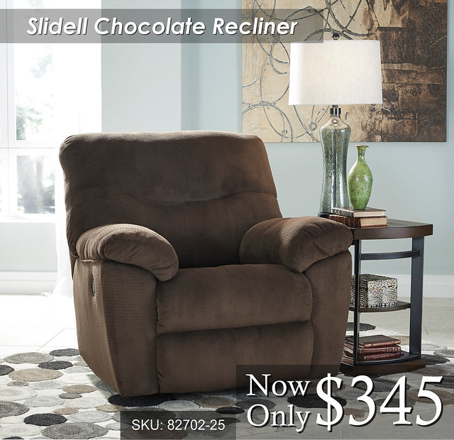Slidell Chocolate Recliner