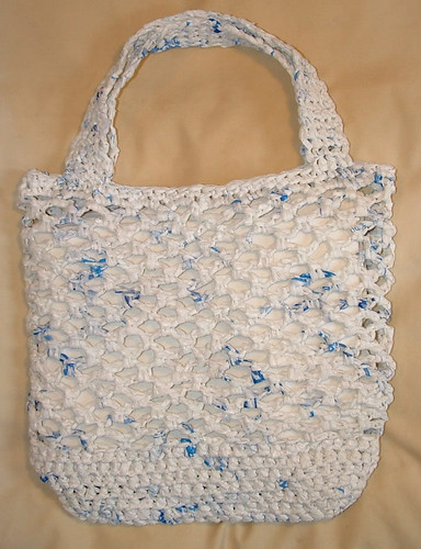 Recycled Plastic Net Market Bag