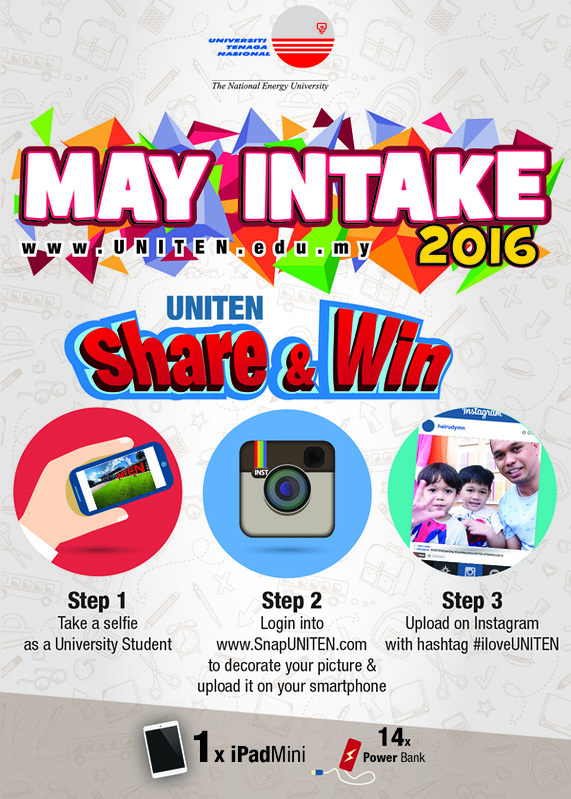 UNITEN Share & Win iPad Mini