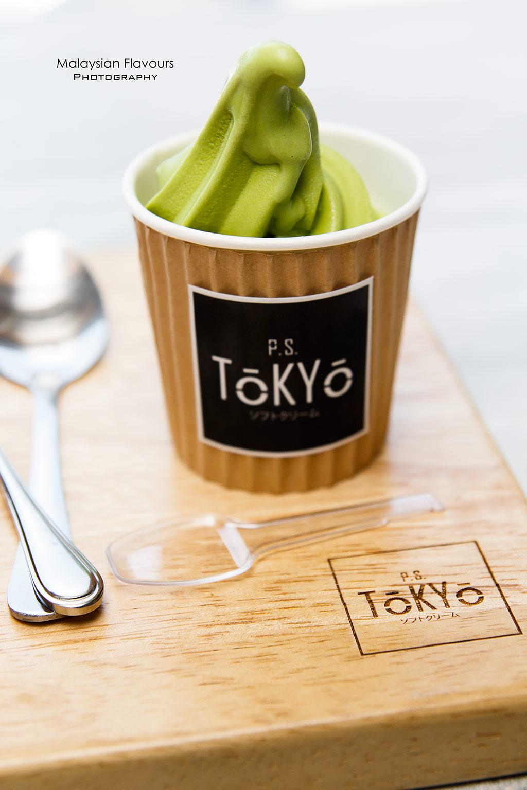 PS Tokyo Cafe SS2 PJ matcha mini