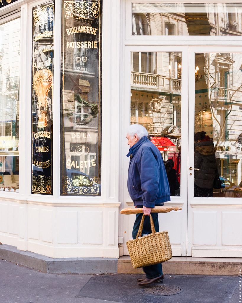 Bread run, Rue Caulaincourt