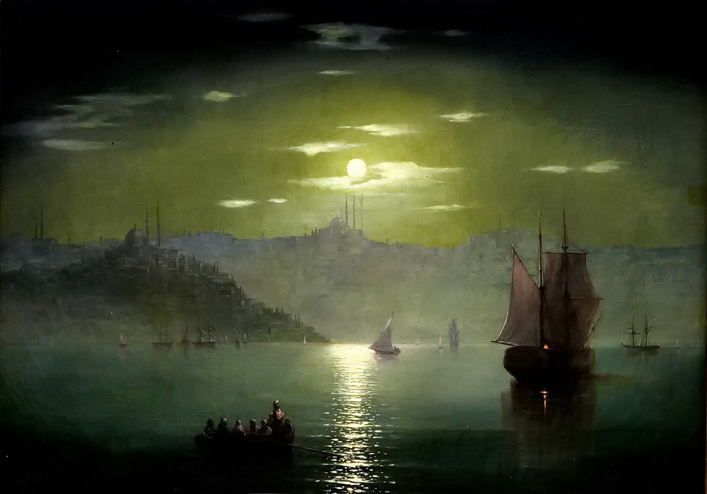 Moon Path by Ivan Aivazovsky
