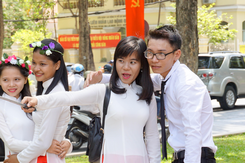 Graduates. Ho Chi Minh City, Vietnam, April 2016