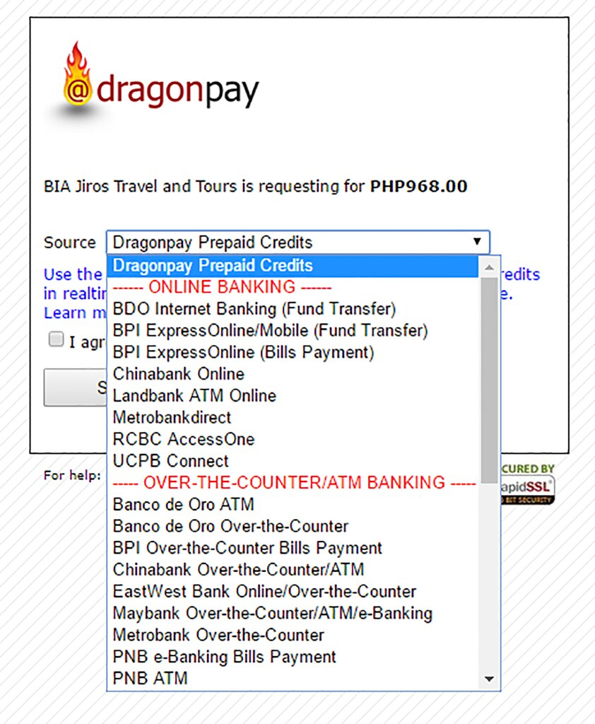 Online Bus Reservations Philippines - Step 7