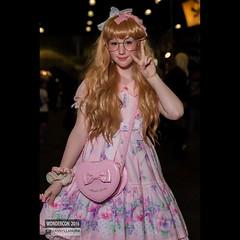 @kerakitties in #lolitafashion #sweetlolita #cosplay at @wondercon #wonderconla #wondercon2016