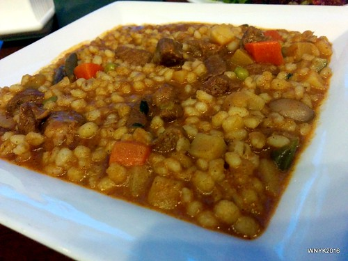 Barley Rice with Lamb Ragout