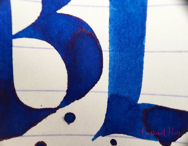 Ink Shot Review Diamine 150th Anniversary Blue Velvet @AppelboomL (5)
