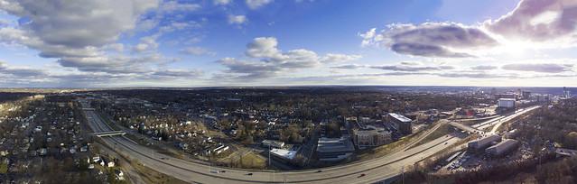 Grand Rapids sky view