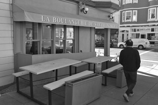 La Boulangerie de San Francisco Noe Valley - 24th St location bw