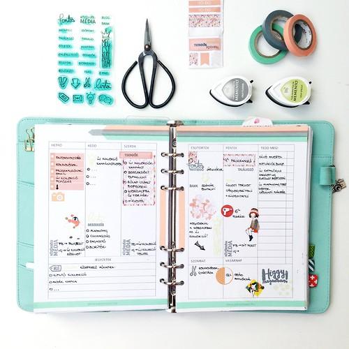 Online business planner pecset