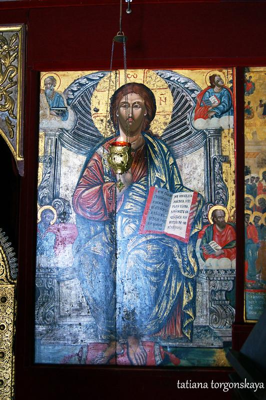 Икона с  иконостаса
