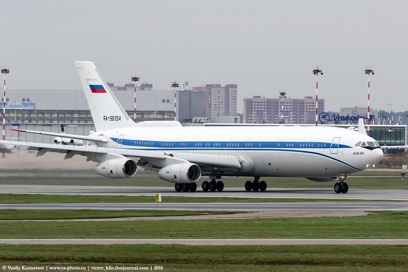 Ilyushin Il-96-400 RA-96104