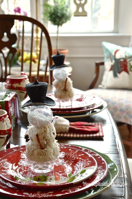 No-Bake Snowmen Cookies - Housepitality Designs