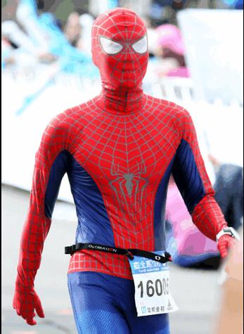 Spiderman in Taipei Marathon (10)