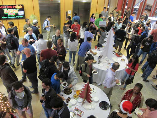 UCSD CSE Holiday Party 2015