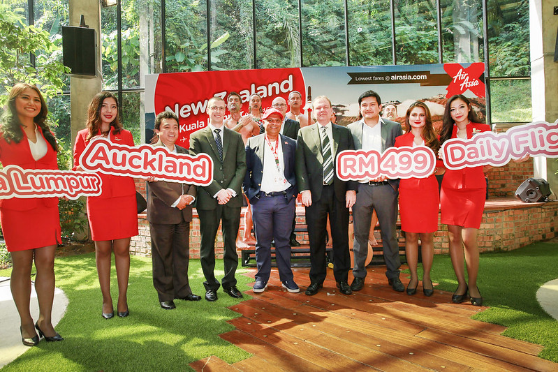 airasia x new zealand launch picture 1
