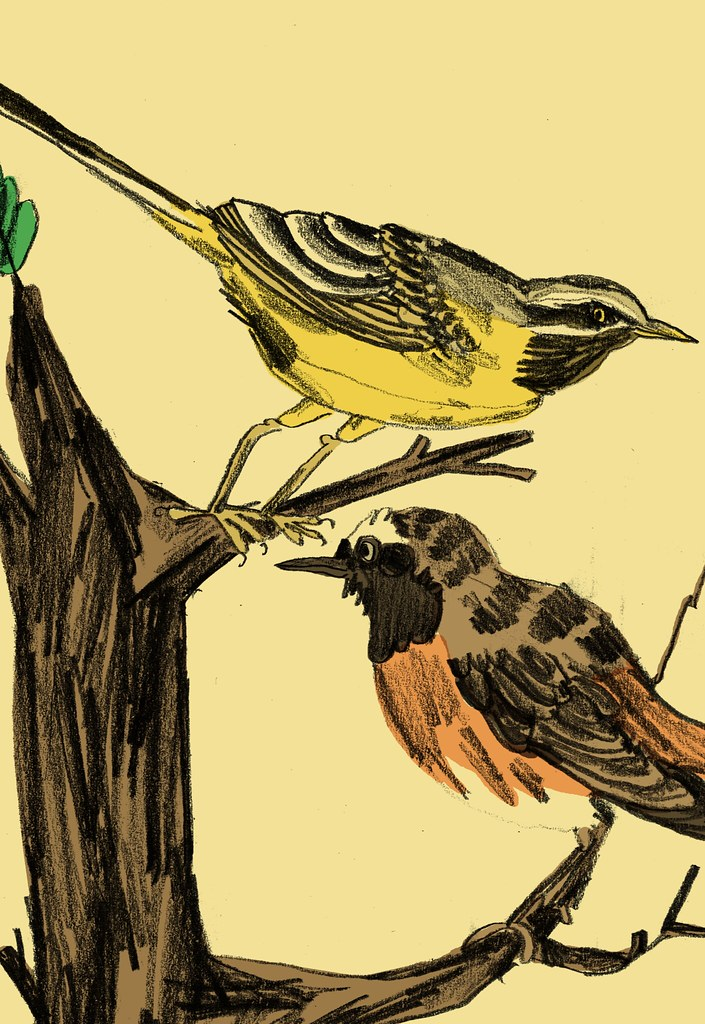 fågelkalender detalj