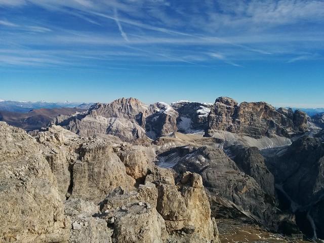 Gipfelausblick Große Zinne
