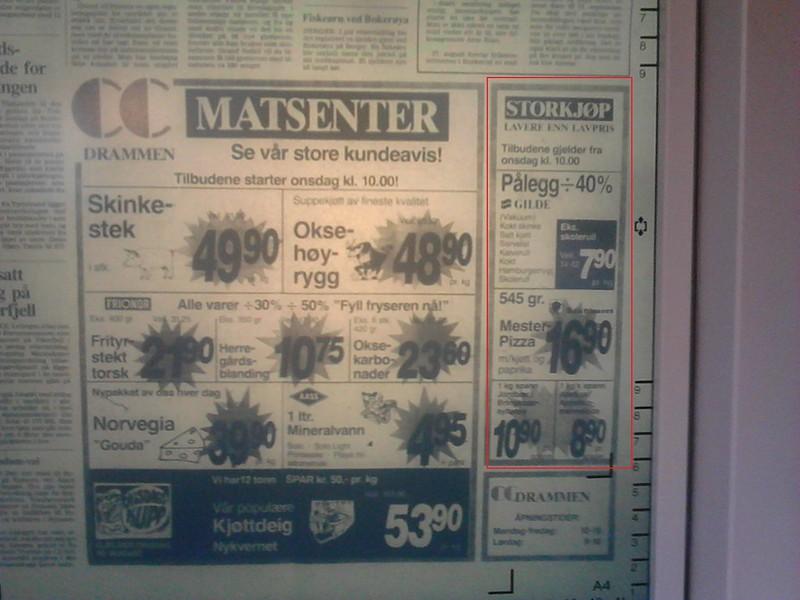 mer om cc storkjøp (fra høsten 1989)