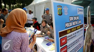 Launching-SIM-Online-Jakarta