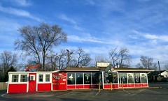 EAT AT JOE'S SHELBY DINER in Indianapolis.