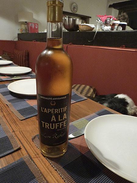 apéritif à la truffe