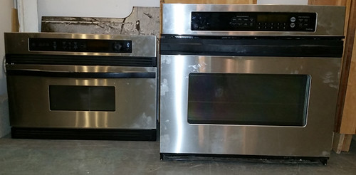 Stainless appliances included with Dacora kitchen cabinets for $3,200