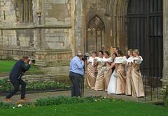 Hochzeit   auf einer Hochzeit sein