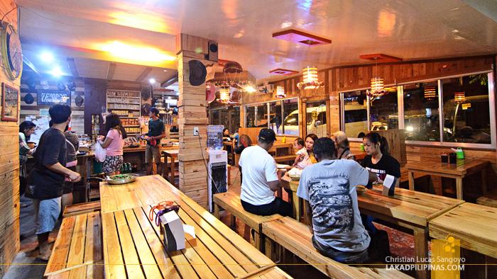 Ima's Pamangan Bataan Dining Area