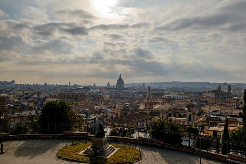 Vista da Viale del Belvedere
