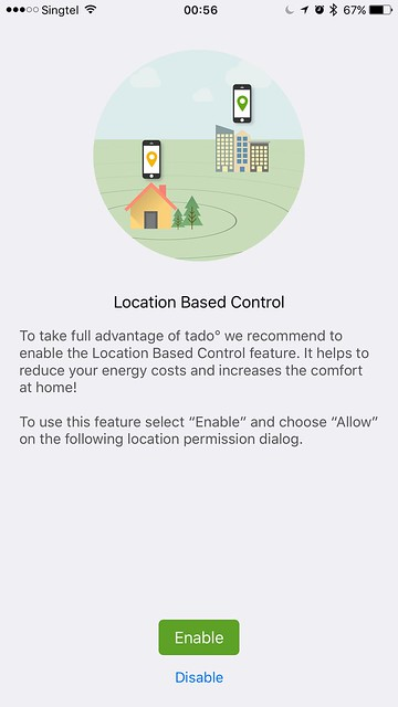 tado iOS App - Location Based Control