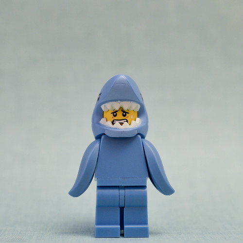Shark suit guy (alternate face)