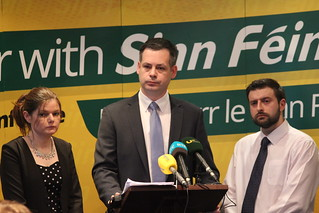 Kathleen Funchion, Pearse Doherty & Shane O'Brien