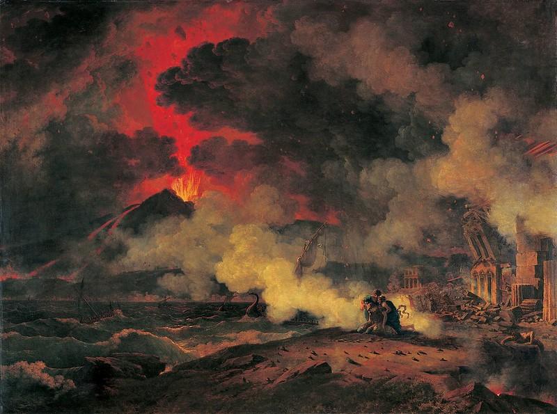 Pierre-Henri de Valenciennes - Eruption du Vesuve Musée des Augustins Toulouse (1813)